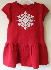 a41c7ed642f5f Image is loading NWT-Gymboree-Holiday-Shop-Red-Snowflake-Dress-Girl-