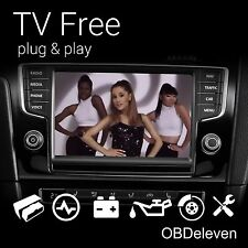 TV Free Video in Motion Volkswagen Discover MIB1 MIB 2 VW Golf 7 Passat B8 VIM