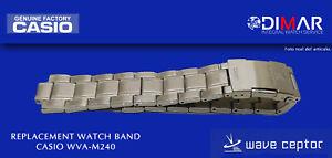 Replacement Original Watch Band Casio WVA-M240. NOS