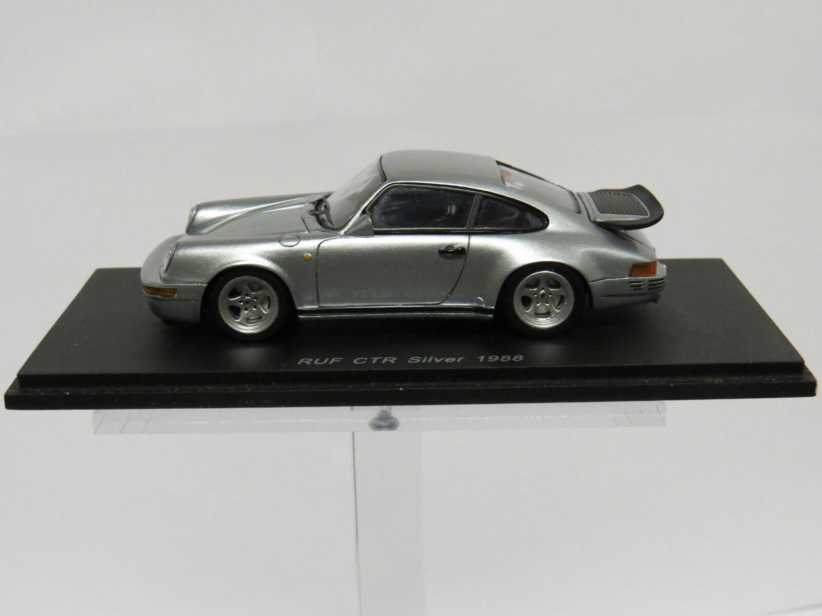 respuestas rápidas Porsche RUF CTR plata 1988 1988 1988 1 43 Spark S0703  Entrega rápida y envío gratis en todos los pedidos.