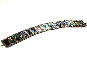 Bijou-argent-bracelet-alpaca-Mexico-abalone-nacre-ideal-pour-cadeau