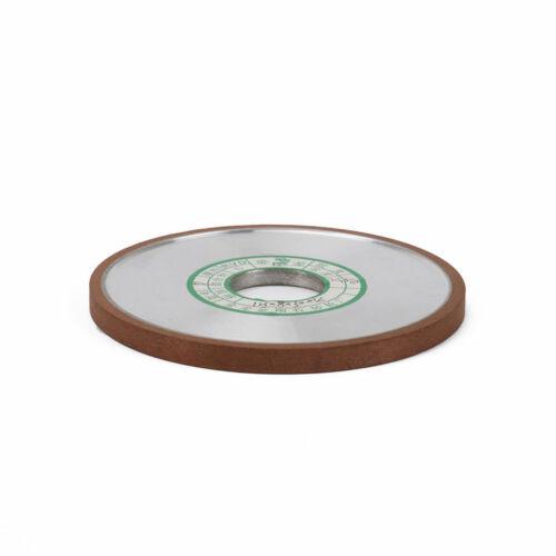 "4/"" Resin Diamond Grinding Wheel Flat Abrasive Tool for Cutter Carbide 4//5/"" Bore"