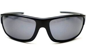 bcbcd58601 Image is loading Hobie-Polarized-Sunglasses-GREY-Lens-Black-Frame-100-
