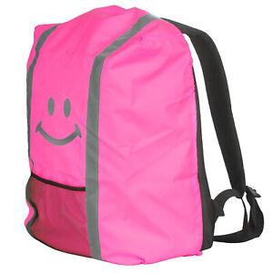 Proteccion-contra-la-lluvia-para-maleta-mochila-funda-protectora-reflector-un-lazo-lluvia-Pink