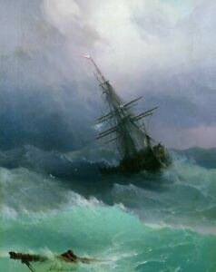 Ivan-Aivazovsky-Storm-Fine-Art-Print-on-Canvas-Home-Decor-Painting-Giclee-SMall