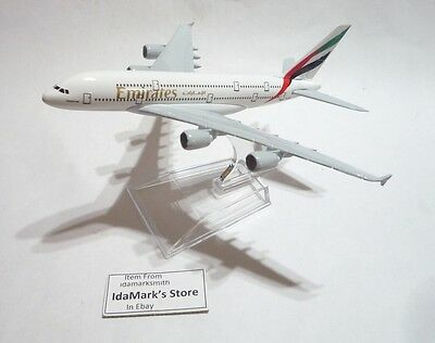 A380 EMIRATES A380 AIRBUS DIECAST METAL MODEL AIRCRAFT NEW BIG A380 UAE AIRLINES