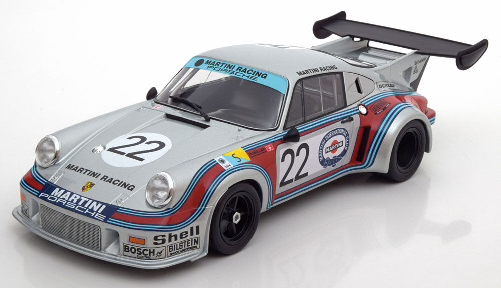 Norev Porsche 911 RSR 2.1 Turbo 2nd 24h Le Mans 1974  18 Scale LE of 1000