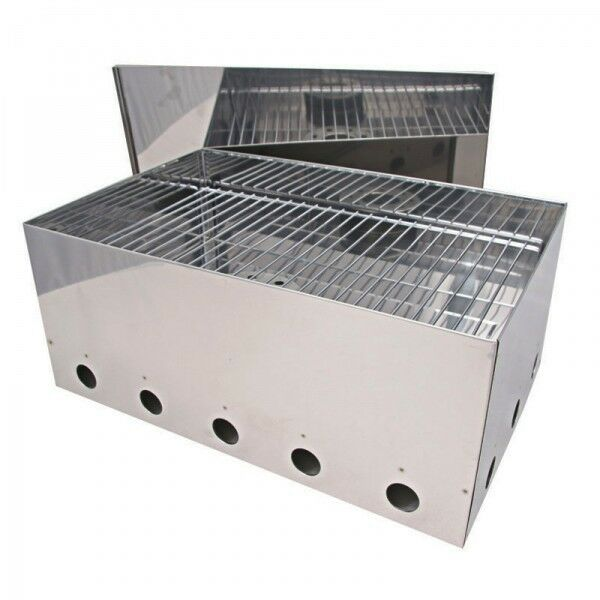 Campfire Stainless Steel Fish Smoker
