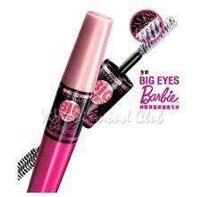 Maybelline New York BIG EYES Barbie Two-Way Fibers Mascara BLACK Waterproof NEW