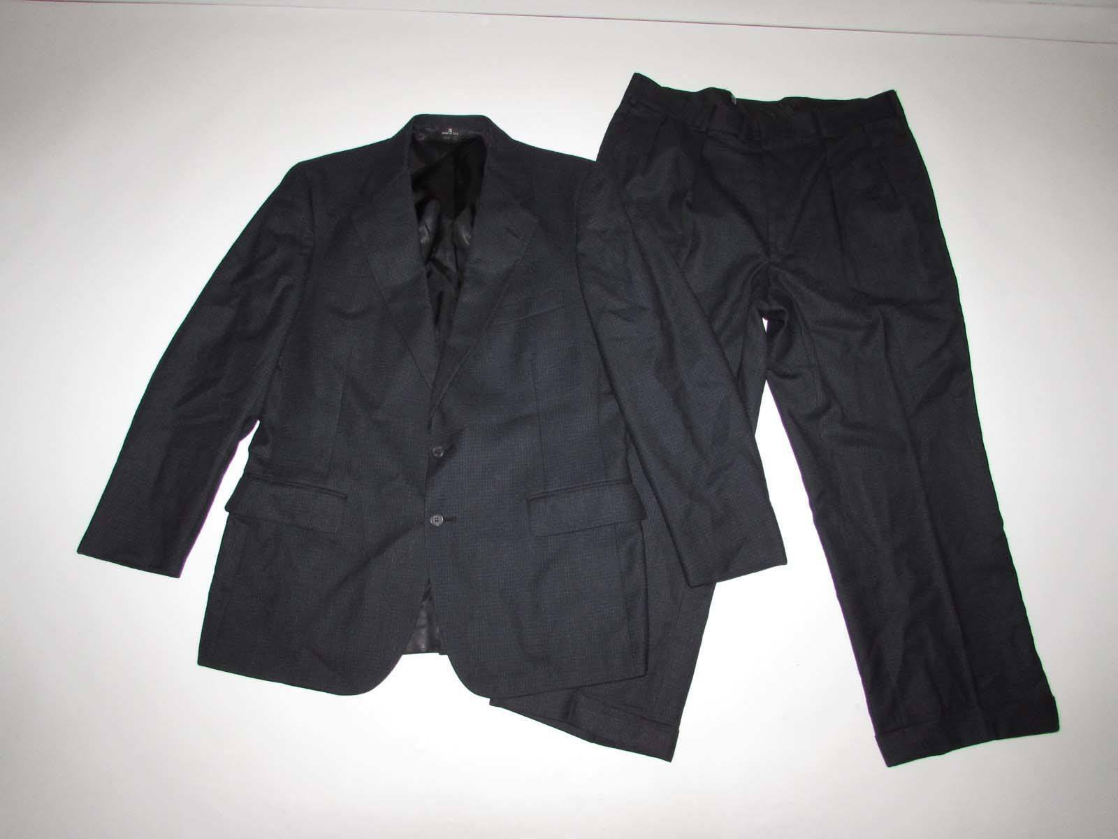 Polo Ralph Lauren Herren Anzug-Größe 40 Regulär 35 X 26.5 Dukles Marineblau Blau