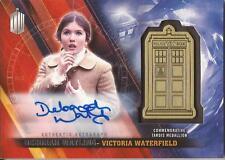 "Doctor Who Timeless - Deborah Watling ""Victoria"" Autograph Medallion Card #07/10"