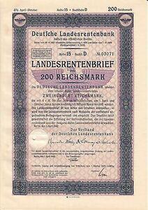 AV-VD-Landesrentenbank-Berlin-Landesrentenbrief-1-April-1942-200-Reichsmark-AK18