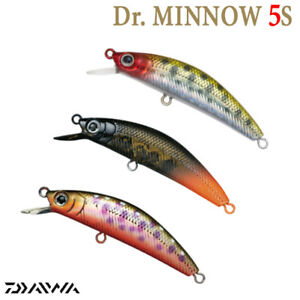 Daiwa Silver Creek Minnow 50S 4.5 g 50 mm sinking trout minnow various colors