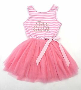 foto de Big Sister GIRLS TUTU DRESS newborn baby Pink Princess