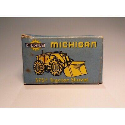 Box / Scatola Originale (anno 1958) Mercury Art. 375 A / Michigan Tractor Shovel