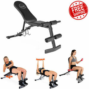 home gym bench weight 4 angles training lifting exercise