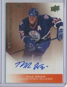 2013-14-Upper-Deck-Oiler-Collection-Franchise-Ink-AUTO-Mike-Grier