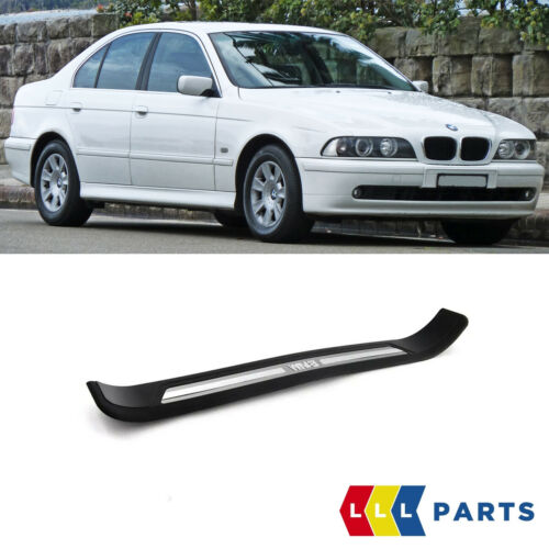 NEW GENUINE BMW 5 SERIES E39 FRONT DOOR SILL COVER BLACK RIGHT O//S 8159934