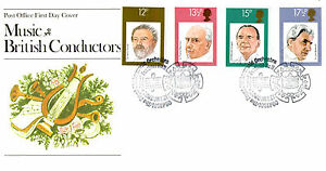 10 SEPTEMBER 1980 FAMOUS CONDUCTORS POST OFFICE FDC ROYAL PHILHARMONIC ORCHESTRA - Weston Super Mare, Somerset, United Kingdom - If the item you received has in any way been wrongly described or we have made a mistake regardless of the nature we will pay your return postage costs. If however the error is yours you pay for the return pos - Weston Super Mare, Somerset, United Kingdom
