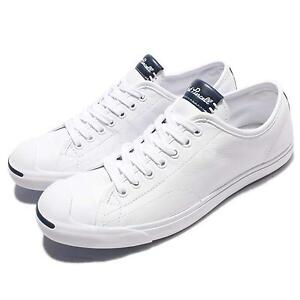 Converse Jack Purcell Jack White Leather Men Casual Shoes Snekaers 156379C