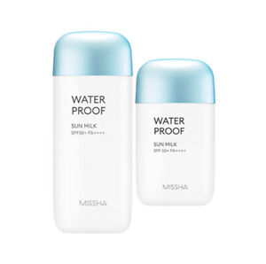 MISSHA-ALL-AROUND-SAFE-BLOCK-WATERPROOF-SUN-MILK-40ml-70ml-Korea-Cosmetic