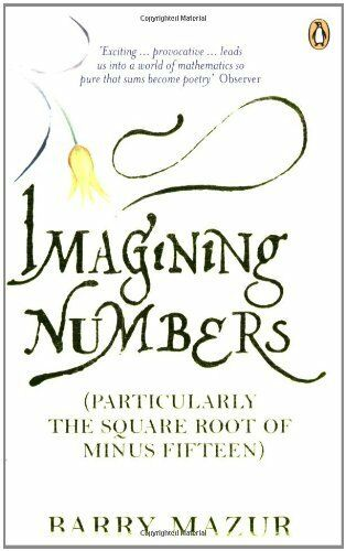 Imagining Numbers: (Particularly the Square Root of Minus Fifteen) By Barry Maz