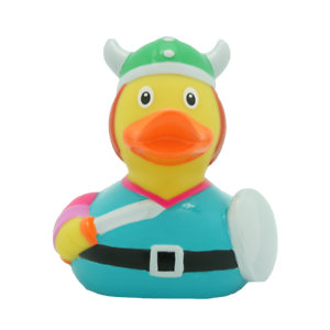 Viking Rubber Duck By Lilalu