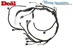 Brilliant Wiring Specialties Engine Tranny Harness For S14 Sr20Det Sr20 Zenki Wiring Cloud Hisonuggs Outletorg