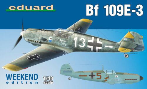 Bf 109E-3 1//48 Eduard Modellbausatz 84157 Weekend Edition