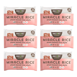 Miracle Noodle Miracle Rice - Gluten-Free Shirataki Rice, Keto, Vegan, Soy Free,
