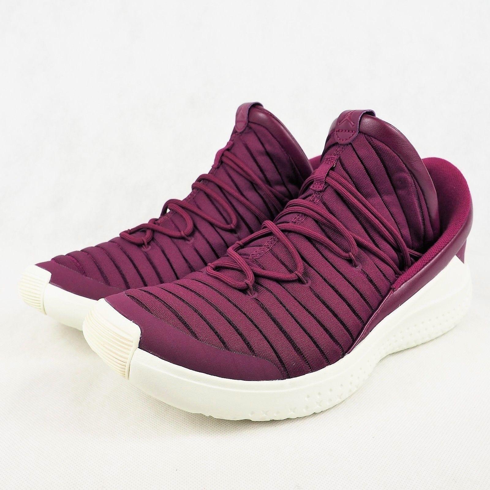 Nike Jordan Flight Luxe Training Shoes Mens Sizes 13 Bordeaux Sail 919715 637