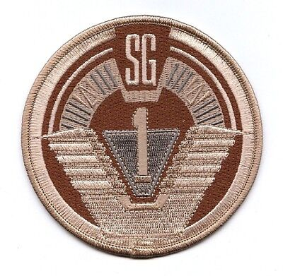 Stargate SG 1 SGC Deser Iron//sew on Embroidered Patch