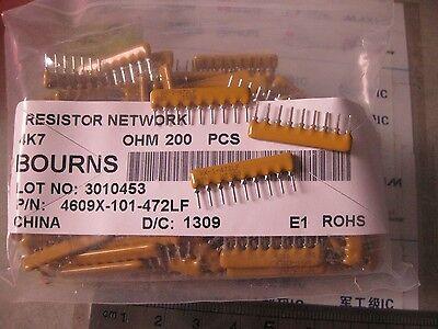 Resistor Networks Arrays 9Pins 4.7Kohms Bussed