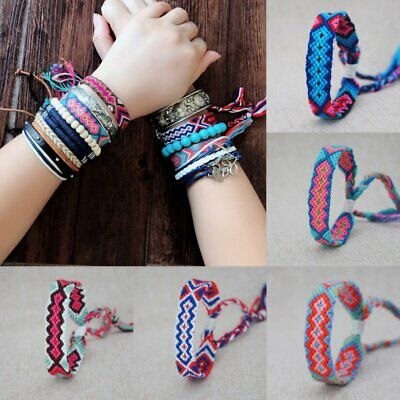 Germany Colour Wrist Band Friendship Surfur Holiday Anklets ...