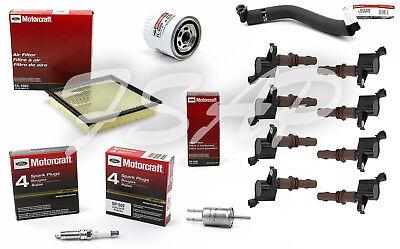 Tune Up Kit 2008-2010 Ford F-350 SuperDuty V8 5.4L Ignition Coil DG521 SP509