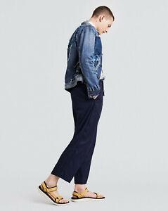 Levi's Made Crafted Josh Peskowitz Japanese Blue Pants Men Size 34