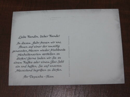 Diddl Postkarte MESSEKARTE Messe 2004 2006 2009 2010 Auswählen RARITÄTEN