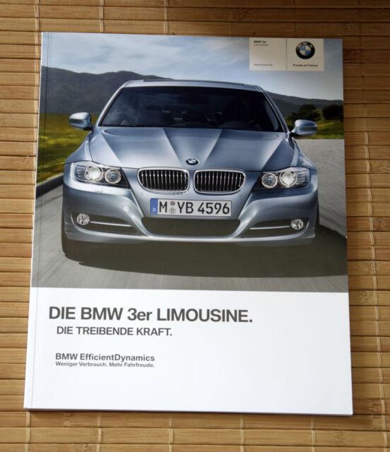 BMW Prospekt 3er Limousine E90 • Stand 2011 • 335i • Efficient Dynamics Edition