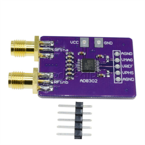 AD8302 Detector Module Amplitude Phase RF IF 2.7GHz Phase Detection
