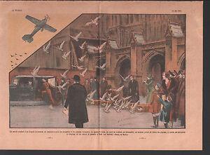 DEPUTY-T-COOK-PLANE-RACE-PIGEON-VOYAGEURS-CROYDON-HOLT-ILLUSTRATION-1934