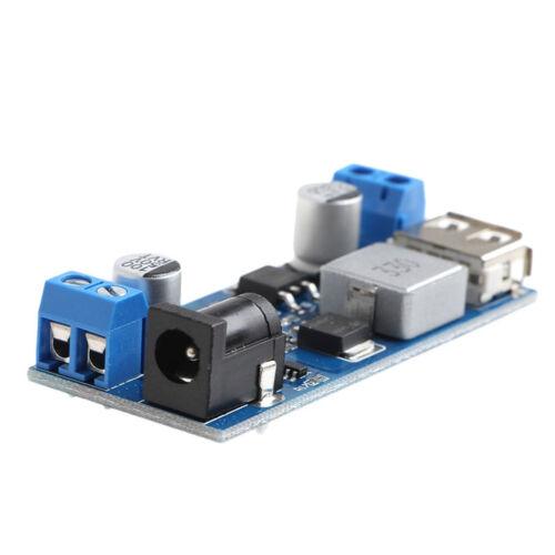 12V To 5V 5A Power Module DC-DC Step-Down Power Supply Converter NEW 24V