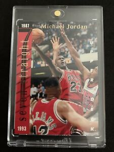 MICHAEL-JORDAN-1993-94-Upper-Deck-Scoring-Titles-SP-Insert-W-Wilt-Chicago-Bulls