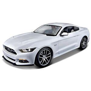 1:18 2015 Ford Mustang Gt édition du 50e anniversaire miniature de réplique de voiture jouet voiture 90159381334