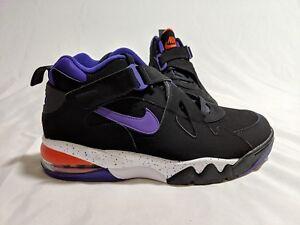 0974f800b55 Nike Air Force Max CB Size 10.5 Black Court Purple Team White AJ7922 ...