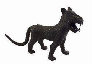 Leopardo-Grande Panthere Regno Del Benin Nigeria 69cm-bini edo-1277