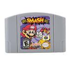 Super Smash Bros Mario Peach Game Card Cartridge For Nintendo 64 N64 US SHIPPING