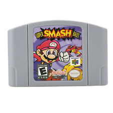 Super Smash Bros Mario Peach Game Card Cartridge For Nintendo 64 N64 US SHIPPING