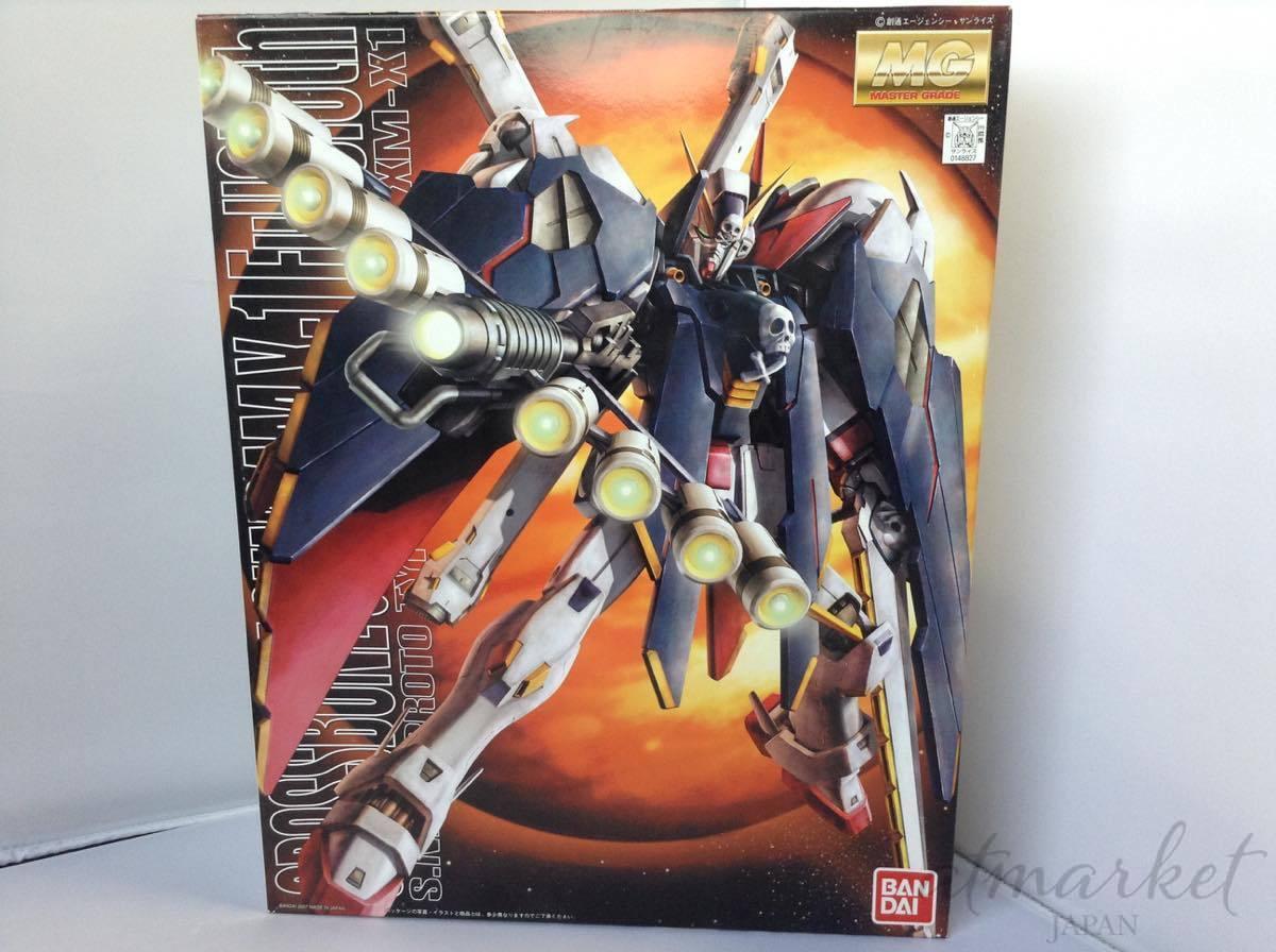 BANDAI MG Crossbone Gundam 1  100 XM -X1 Crossbone Gundam Full Cloth MG Japp NY