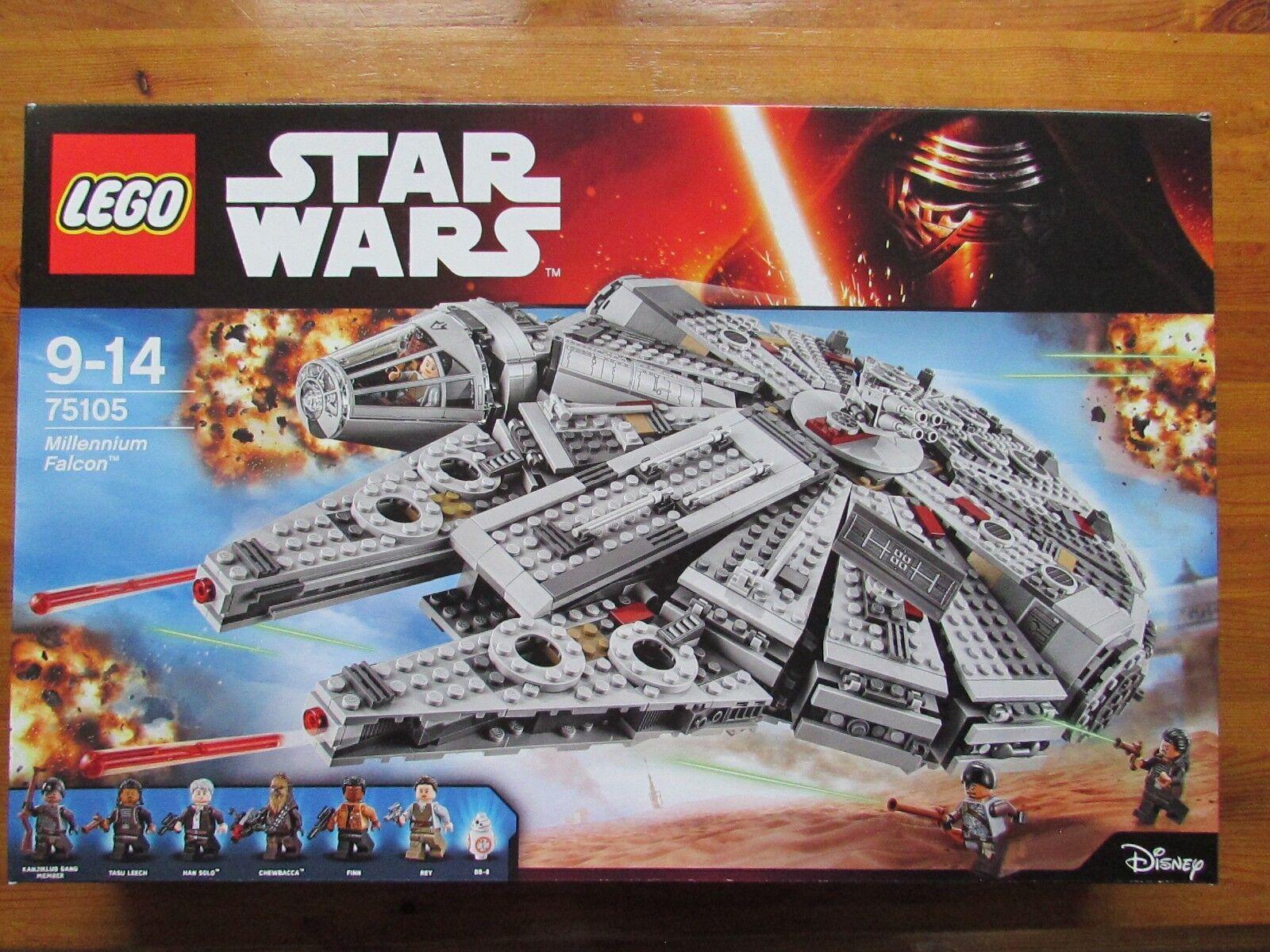 LEGO set 75105 STAR WARS Millennium Falcon MISB