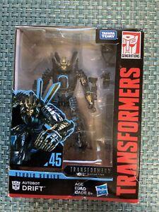 Transformers Studio Series Autobot DRIFT 45 Deluxe Class New MISB Hasbro 2018